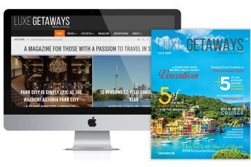 LuxeGetaways Magazine Fall 2016 Issue Launch