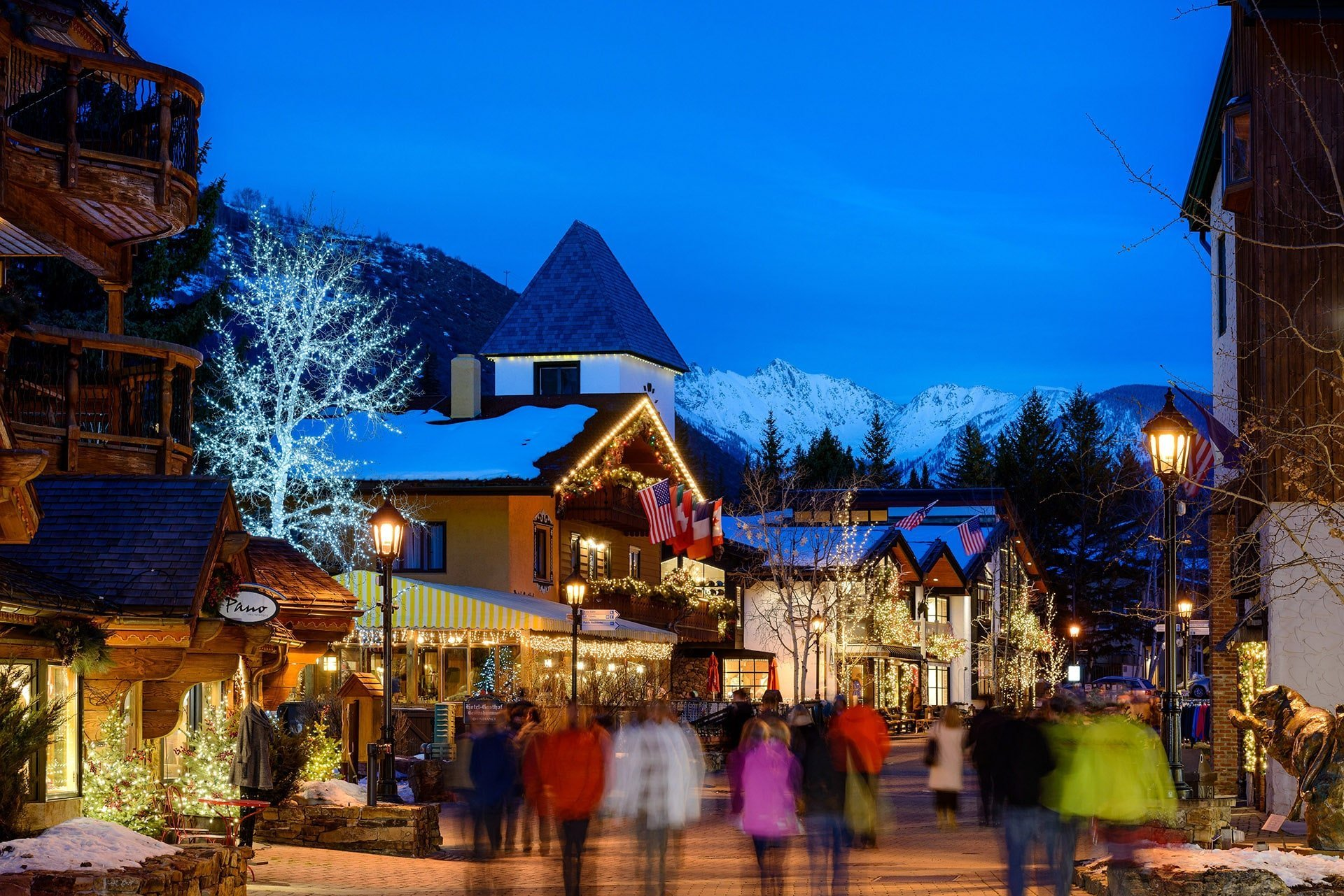 christmas holidays with european flair in vail colorado