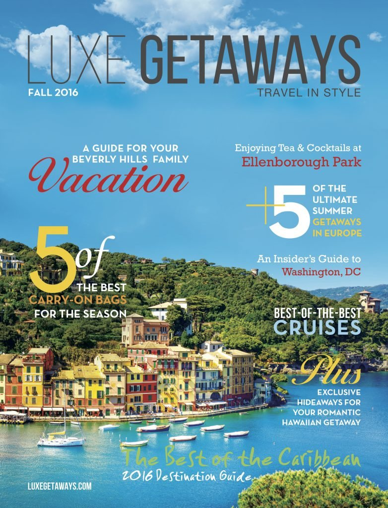 LuxeGetaways - Luxury Travel - Luxury Travel Magazine - Luxe Getaways - Luxury Lifestyle - Magazine Cover - digital magazine
