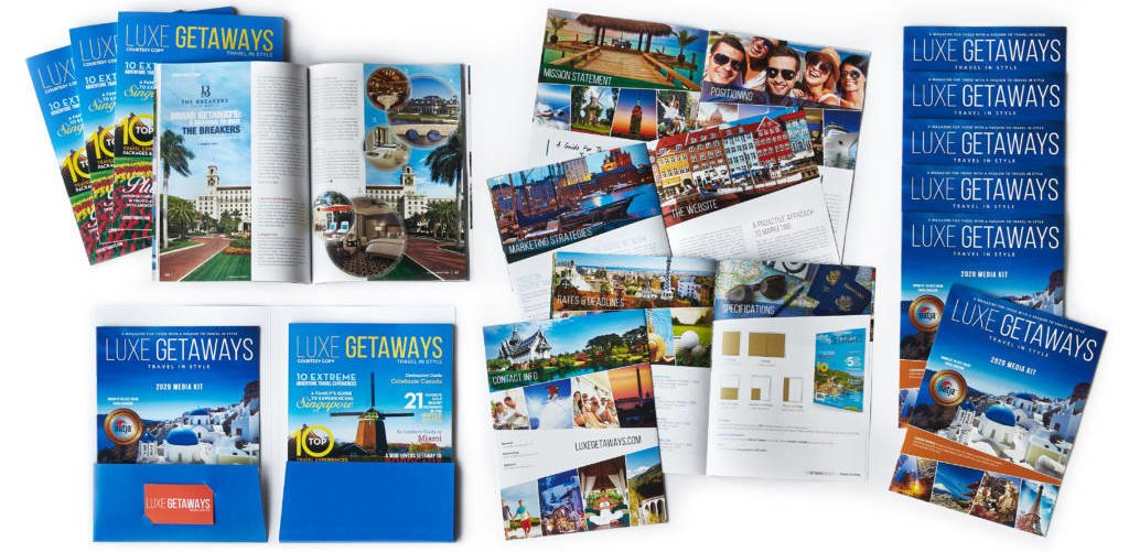 LuxeGetaways 2020 Media Kit - Ad Buys - Magazine Advertising - Travel Magazine - Luxury Magazine - Luxury Travel Magazine