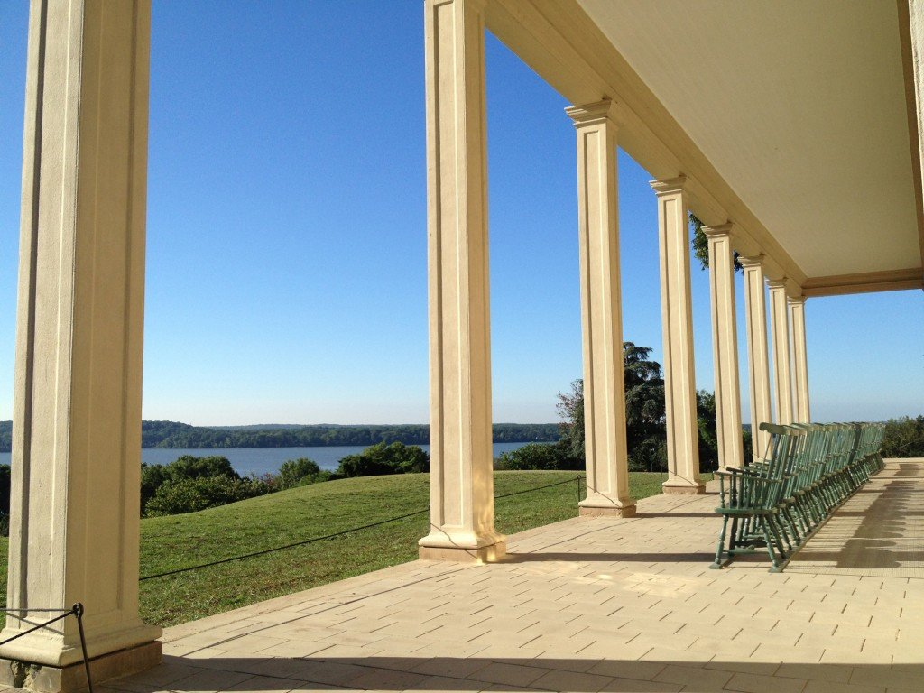 The Mount Vernon Mansion - Courtesy George Washington's Mount Vernon