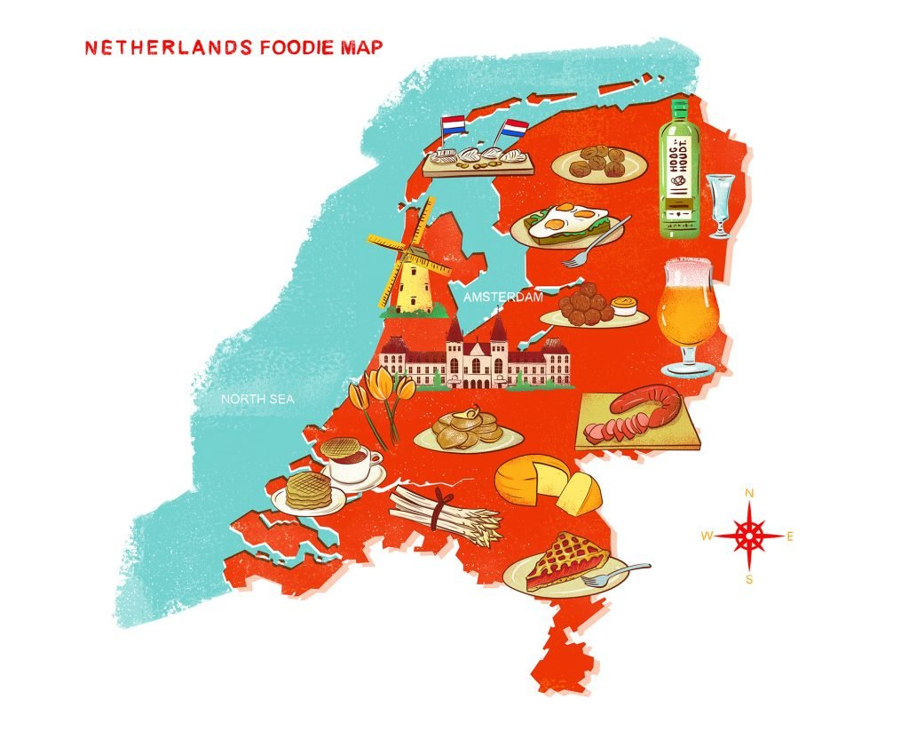 Top 5 Must Try Traditional Foods in Amsterdam _ LuxeGetaways
