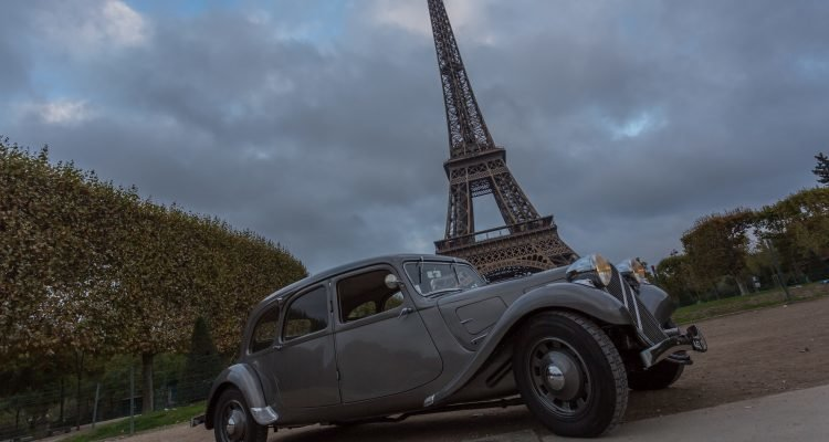 LuxeGetaways - Luxury Travel - Luxury Travel Magazine - Luxe Getaways - Luxury Lifestyle - Digital Travel Magazine - Travel Magazine - A Weekend in the Marais Area of Paris - Jules and Jim - France - Hotel Citroen traction 1938