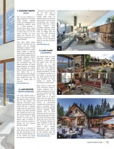 LuxeGetaways - Luxury Travel - Luxury Travel Magazine - Luxe Getaways - Luxury Lifestyle - Digital Travel Magazine - Travel Magazine - Homes that bring the outdoors in - Home and Design - Damon Banks - Coconut Grove - Lake Tahoe - Lake Keowee