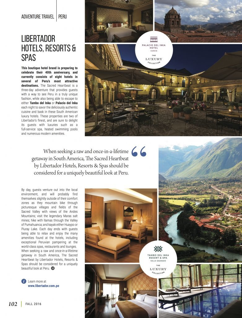 An Exciting New Way To Explore Peru's Sacred Valley   LuxeGetaways