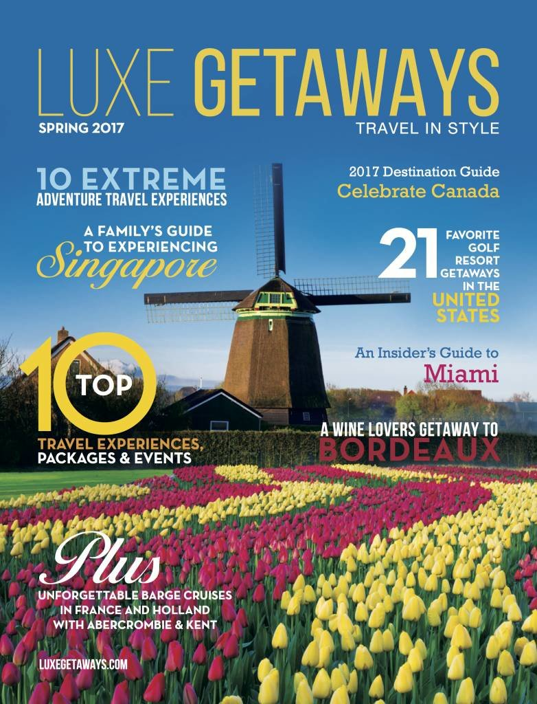 LuxeGetaways - Luxury Travel - Luxury Travel Magazine - Luxury Travel Magazine Cover - Luxe Getaways - Luxury Lifestyle