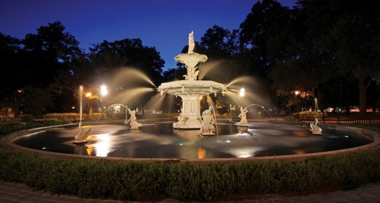 LuxeGetaways - Luxury Travel - Luxury Travel Magazine - Savannah Tourism - Fountain