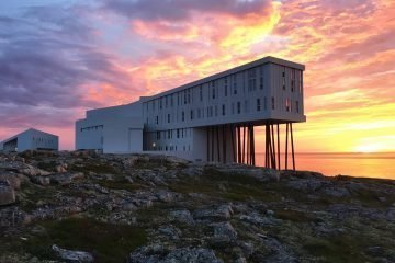 LuxeGetaways - Luxury Travel - Luxury Travel Magazine - Newfoundland - Matt Long - Canada - Fogo Island Inn