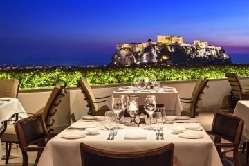 LuxeGetaways - Luxury Travel - Luxury Travel Magazine - Savoring Tastes of Athens - Michelle Winner - Athens Greece - Greek Food - Roof Garden Restaurant
