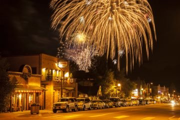 LuxeGetaways - Luxury Travel - Luxury Travel Magazine - Frisco Colorado - July 4 - fireworks downtown