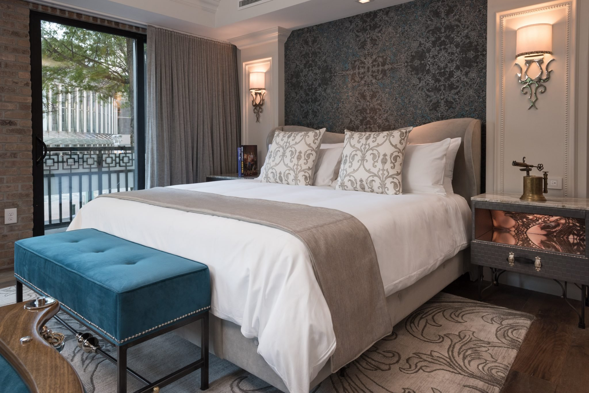 The opening of the ivey s hotel a charlotte landmark for Charlotte nc boutique hotels