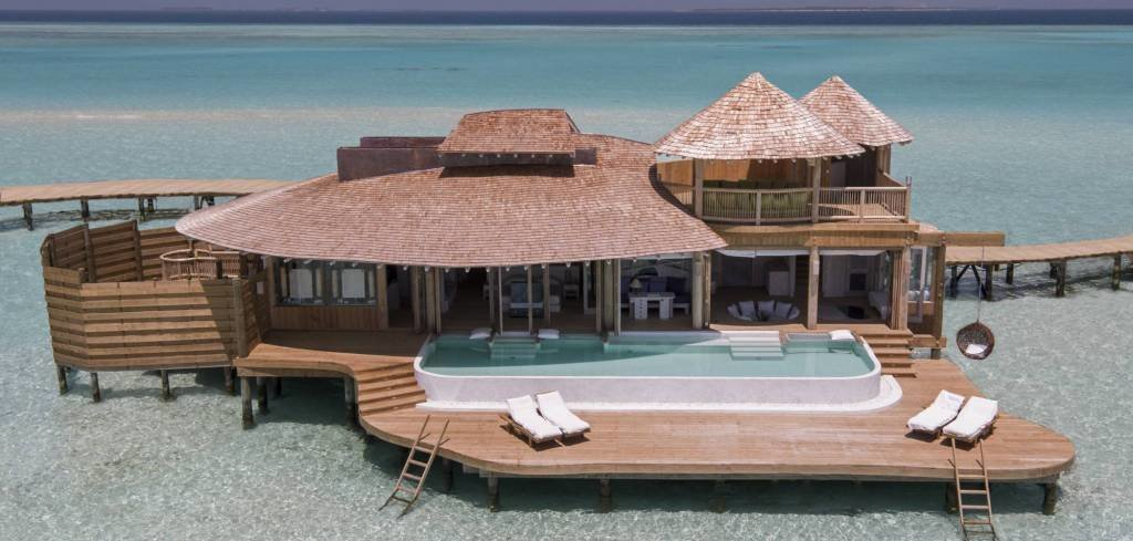 LuxeGetaways - Luxury Travel - Luxury Travel Magazine - Luxe Getaways - Luxury Lifestyle - Luxury Villa Rentals - Affluent Travel - Soneva Jani Water Villas - Medhufaru Island - Republic of Maldives - villa with pool over ocean