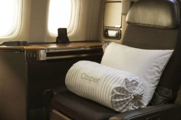 LuxeGetaways - Luxury Travel - Luxury Travel Magazine - Luxe Getaways - Luxury Lifestyle - Casper - American Airlines - First Class