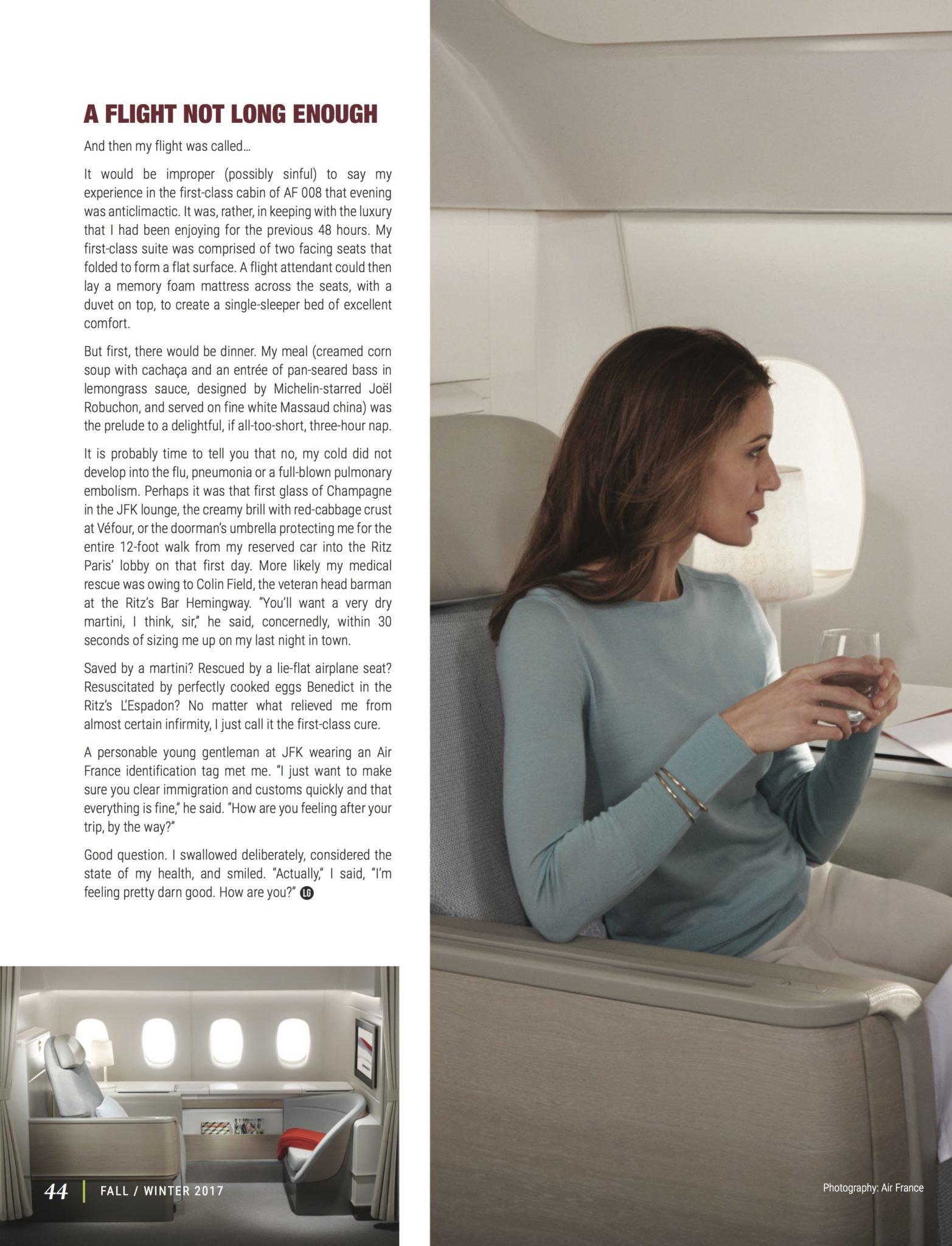 LuxeGetaways - Luxury Travel - Luxury Travel Magazine - Luxe Getaways - Luxury Lifestyle - Fall/Winter 2017 Magazine Issue - Digital Magazine - Travel Magazine - Air France - Ritz Paris - Mark Orwoll