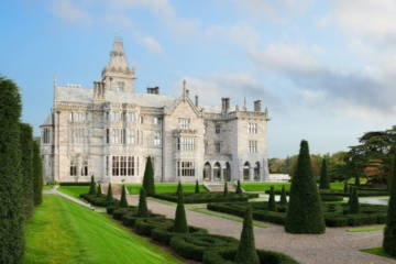 LuxeGetaways - Luxury Travel - Luxury Travel Magazine - Luxe Getaways - Luxury Lifestyle - Fall/Winter 2017 Magazine Issue - Digital Magazine - Travel Magazine - Adare Manor - Ireland - Castle Hotel