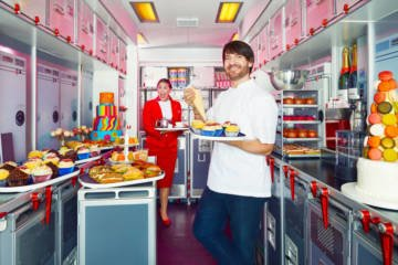 LuxeGetaways - Luxury Travel - Luxury Travel Magazine - Luxe Getaways - Luxury Lifestyle - Eric Lanlard - CakeBoy - Afternoon Tea - Virgin Atlantic - Airline Food
