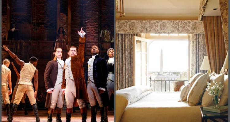 LuxeGetaways - Luxury Travel - Luxury Travel Magazine - Luxe Getaways - Luxury Lifestyle - Hamilton Musical - Broadway - Kennedy Center - Washington DC Summer Hotel Packages