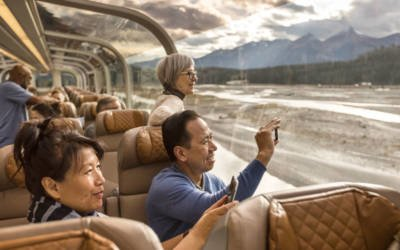 LuxeGetaways - Luxury Travel - Luxury Travel Magazine - Luxe Getaways - Luxury Lifestyle - Rocky Mountaineer - Canadian Rockies Travel - Train Travel - Luxury Train Travel