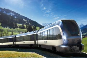 LuxeGetaways - Luxury Travel - Luxury Travel Magazine - Luxe Getaways - Luxury Lifestyle - Bespoke Travel - Goldenpass - MOB - Pininfarina Trains - Luxury Trains