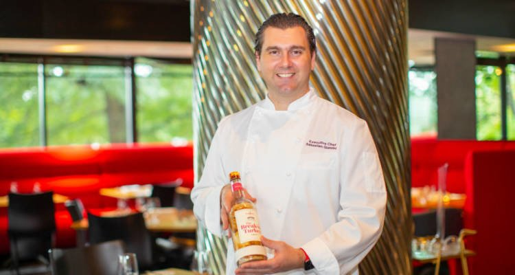 LuxeGetaways - Luxury Travel - Luxury Travel Magazine - Luxe Getaways - Luxury Lifestyle - Bespoke Travel - Thanksgiving Special - Luxury Culinary Experience - Watergate Hotel DC - Kingbird - Chef Sébastien Giannini - Whiskey-Infused Turkey Roulade